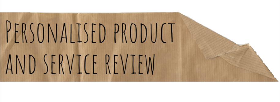 Personalised product and service review