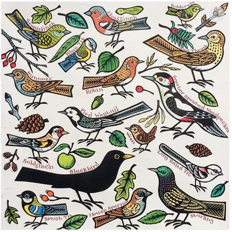 Gerard Hobson Garden Birds
