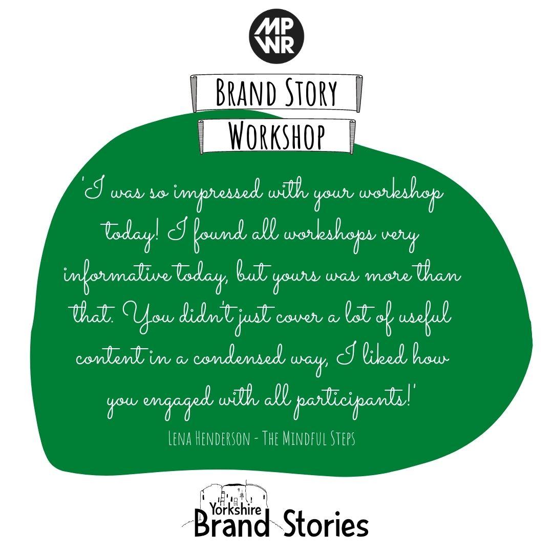 Brand Story Testimonial 1