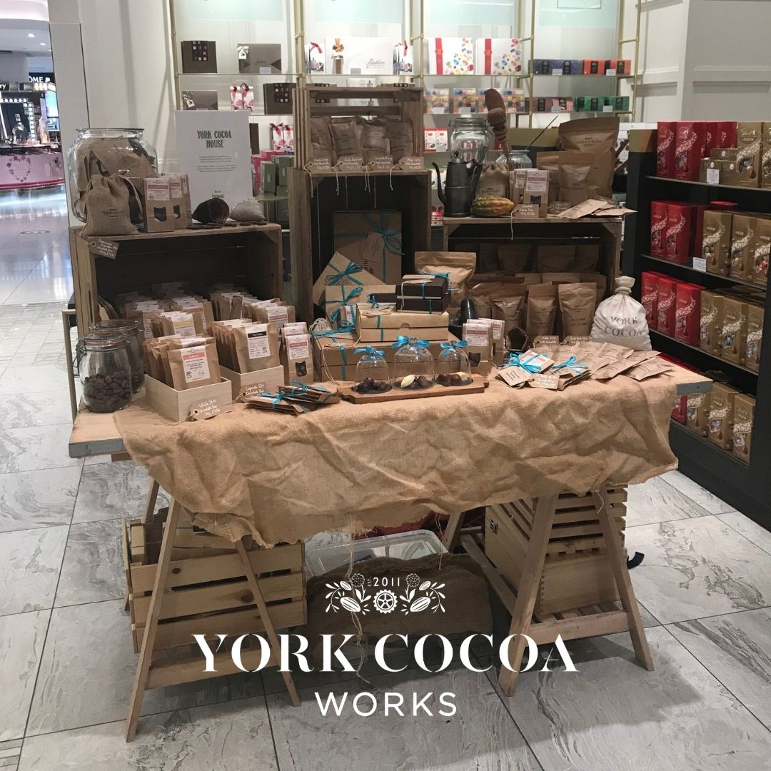 York Cocoa Works Fenwicks Pop Up